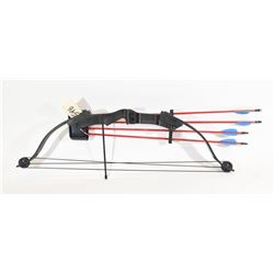 Brave RH Youth Compound Bow w/ 4 Field Tip Arrows