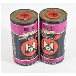 2 Containers Hodgdon BL-C Powder