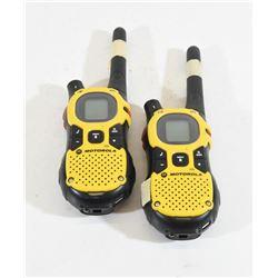 2 Motorola FRS Radios