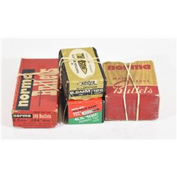 Box Lot 6.5 Rifle Bullets