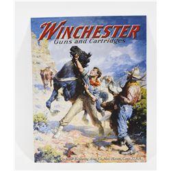 Metal Winchester Guns & Cartridges Sign