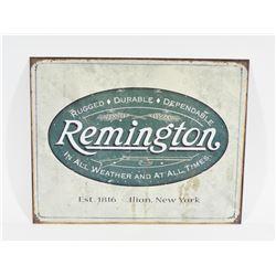 Metal Remington Sign