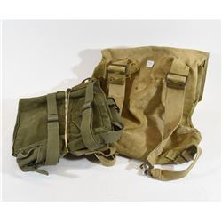 3 Army Bags