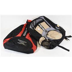 2 Backpacks