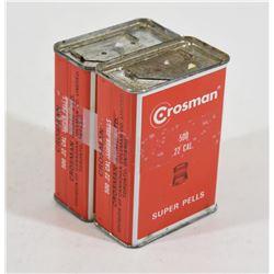 1000 Crosman .22cal Super Pellets
