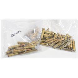 Mix Lot 6.5x55 Brass and Loaded Ammunition