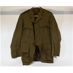 WWII Canadian Army Officers Dress Jacket