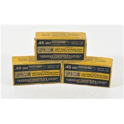 Lot of 3 CIL Dominion 45 Colt Empty Collector Box