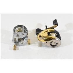Lot of 2 Collectable Fishing Reels
