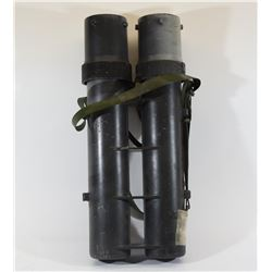 One Double 60mm Mortar Shell Carrier