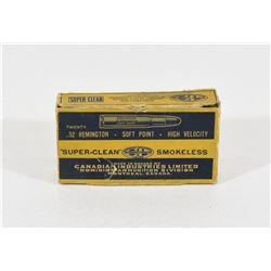 20 Rounds Vintage 32 Remington Ammunition