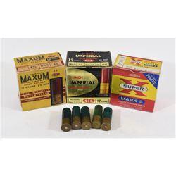 75 Rounds Mixed 12 Gauge Shotgun Ammunition
