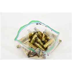 32 Pieces of 7mm-08 Brass
