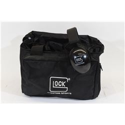 Glock 4 Pistol Range Bag & Hearing Protection
