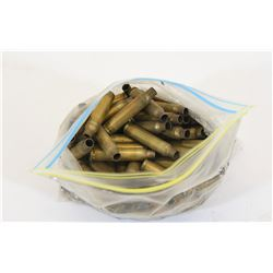 100 Pieces 5.56 Military Brass Once-Fired