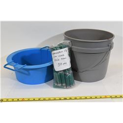 Midway Medium Size Media Hand Separator & Bucket
