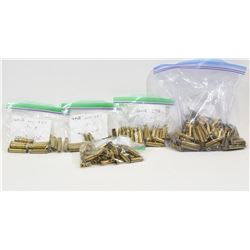 Mixed Lot of  Rimmed Cartridge Brass
