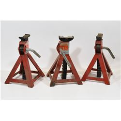 Set of Three 2-Ton Axle Stands