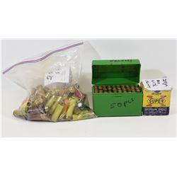 Box Lot 127 Rounds Mixed Shotgun Ammunition
