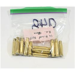 18 Pieces of 308 Winchester Brass