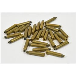 31 Pieces of 7mm Rem Mag Brass
