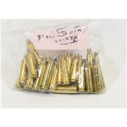 37 Pieces of 22-250 Brass