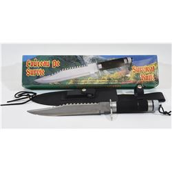 Survival Knife 14""