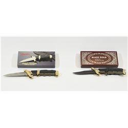 2 Folding Knives