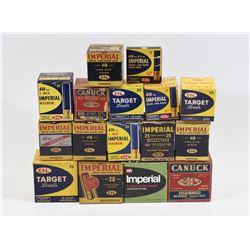 Empty Vintage Collector Ammunition Boxes