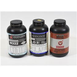 Lot of Hodgdon Smokeless Powder