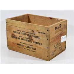 CIL Wooden Ammunition Crate