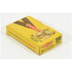 Collectors Box Gevelot 308 Win Ammunition