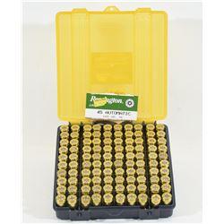 100 Rounds Factory 45 ACP Remington Ammuniton
