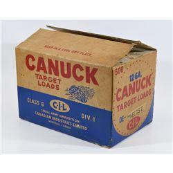 Vintage CIL Shotgun Ammunition Boxes