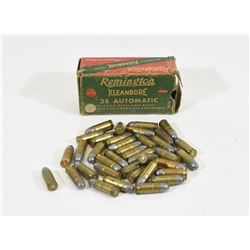 66 Rounds 38 ACP Factory Ammunition