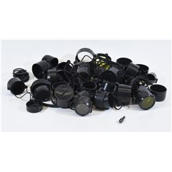 20 Sets Of Various Scope Lens Covers