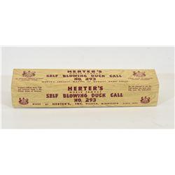 Vintage Herters Duck Call