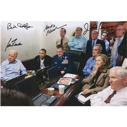 Joe Biden 'Situation Room' Multi-Signed Photograph