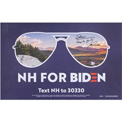 Joe Biden Signed Campaign Sign