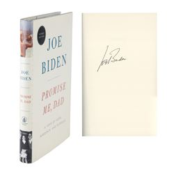 Joe Biden Signed Book and Signed Photograph