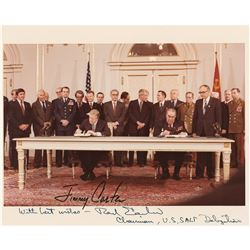 Jimmy Carter (2) Signed Photographs