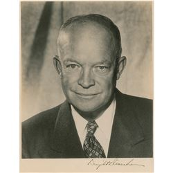 Dwight D. Eisenhower Signed Photograph