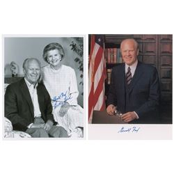 Gerald and Betty Ford Signed Photographs
