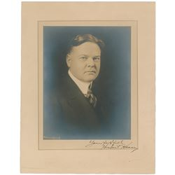 Herbert Hoover Signed Photograph