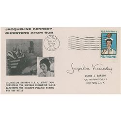 Jacqueline Kennedy Signed First Day Cover
