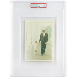 John F. Kennedy and Junior Original 'Type 1' Photograph