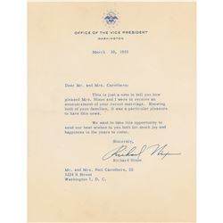 Richard Nixon Typed Letter Signed
