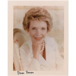 Nancy Reagan Signed Photograph