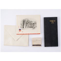 Franklin D. Roosevelt: 1952 White House Christmas Gift