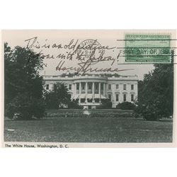 Harry S. Truman Signed First Day Cover